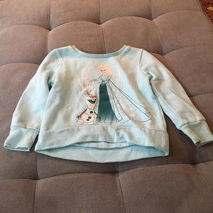 Disney Frozen Elsa and Olaf sweater size 3T